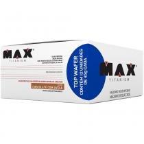 Top Wafer 12 Unidades de 45g Cada - Max Titanium - Max Titanium