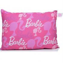 Travesseiro 45x65 cm Barbie - Santista - Rosa - Santista