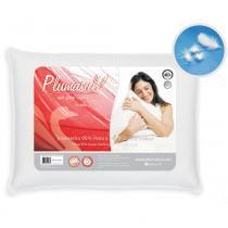 Travesseiro 50x70 cm 95 Pena de Ganso 5 Pluma de Ganso - Branco - Plumasul