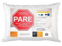 Travesseiro com Gomos Massageadores 100% Poliéster - Fibrasca Pare