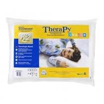 Travesseiro Copespuma Viscoelástico Therapy Junior com Capa de Fibra de Bambu - COPESPUMA