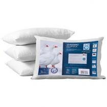 Travesseiro de Plumas Sintéticas - Fibrasca 50x70cm