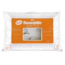 Travesseiro Dunlopillo Basic Flat Látex 50X70 cm - COPESPUMA