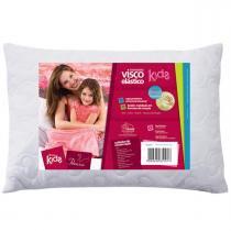 Travesseiro Fibrasca Infantil - Visco Kids - Fibrasca