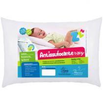 Travesseiro Infantil 30x40cm - Fibrasca Antissufocante