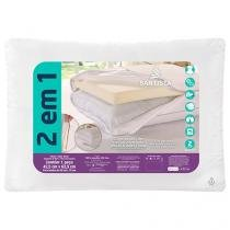 Travesseiro Premium 2 em 1 - Santista