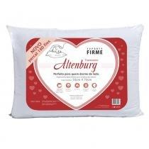Travesseiro Suporte Firme Percal 180 Fios Branco - Altenburg - Branco - Altenburg