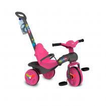 Triciclo de Passeio Veloban com Haste Pink 231 - Bandeirante - Bandeirante