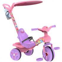 Triciclo de Passeio Veloban Princesas da Disney Rosa/Roxo 2434 - Bandeirante - Bandeirante