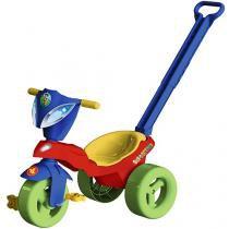 Triciclo Disney com Empurrador Mickey - Xalingo
