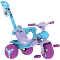 Triciclo Infantil Bandeirante Disney Frozen - Haste Removível