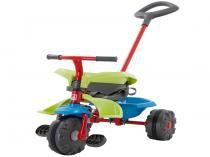 Triciclo Infantil Bandeirante Smart Plus - Haste Removível Porta Objetos