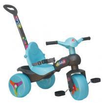Triciclo Infantil Bandeirante Veloban Passeio - Haste Removível Porta Objetos