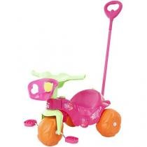 Triciclo Infantil com Empurrador Bandeirante - Motoban Passeio