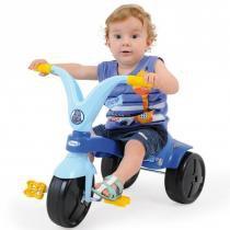 Triciclo Infantil Fokinha Azul 7676 - Xalingo - Xalingo