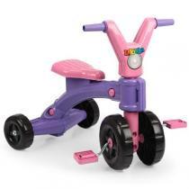 Triciclo Infantil Lekinha Lilás 4240 - Homeplay - Homeplay