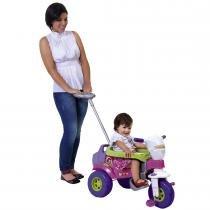 Triciclo Infantil Tico Tico Bichos 3511 Magic Toys Rosa com Aro - Magic Toys