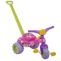 Triciclo Infantil Tico Tico Monster 2239 Rosa Magic Toys com Haste - Magic Toys