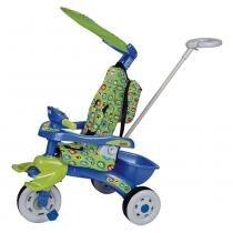 Triciclo Infantil Trike Cebolinha Azul/Verde 3322 - Magic Toys - Magic Toys