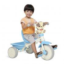 Triciclo Infantil Velobaby Fisher Price Azul 2103 - Bandeirante - Bandeirante
