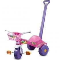 Triciclo Tico-Tico Sereia com Haste 2141 - Magic Toys - Magic Toys