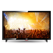TV LED 24 Pol AOC LE24D1461/20 Full HD com Conversor Digital VGA Entradas HDMI e USB - AOC