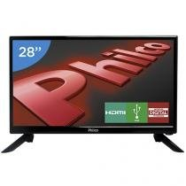 "TV LED 28"" Philco PH28N91D - Conversor Digital 1 HDMI 1 USB"