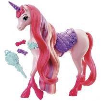 Unicórnio Penteados Mágicos Barbie - Mattel