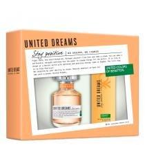 United Dreams Stay Positive Benetton - Feminino - Eau de Toilette - Perfume + Desodorante - Benetton