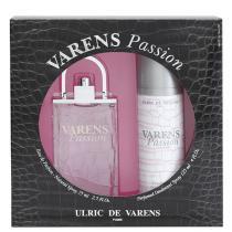Varens Passion Eau de Parfum Ulric de Varens - Kit de Perfume Feminino 75ml + Desodorante 125ml - Ulric de Varens