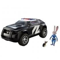 Veículo e Personagem Policial Judy Deluxe Disney Zootopia 1502 - Sunny - Sunny Brinquedos