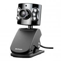 Webcam 480K com Microfone Embutido USB Preta WC040 - Multilaser - Multilaser