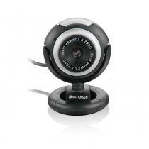 Webcam Plug  Play Multilaser Vision Wc044 Preto Grafite com Microfone USB 16MP - Multilaser