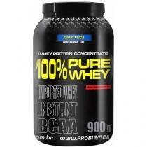 Whey Protein 100% Pure Whey Baunilha 900g - Probiótica c/ BCAA