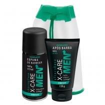 X-Care Men Fresh Fiorucci - Kit Espuma de Barbear 160g + Gel Pós Barba 120g + Mochila - Fiorucci