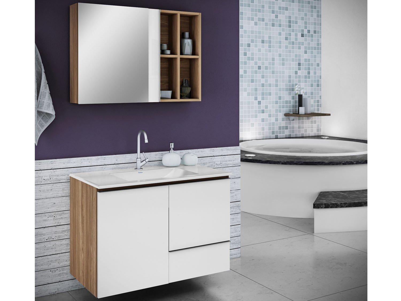 Linha Banheiro Itatiaia : Espelheira para banheiro itatiaia maris porta arm?rios