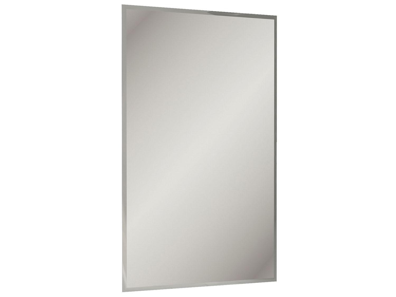 Espelho Para Banheiro Itatiaia Luna Pérola Pictures to pin on  #6B6B60 1500x1125 Armario Banheiro Luna