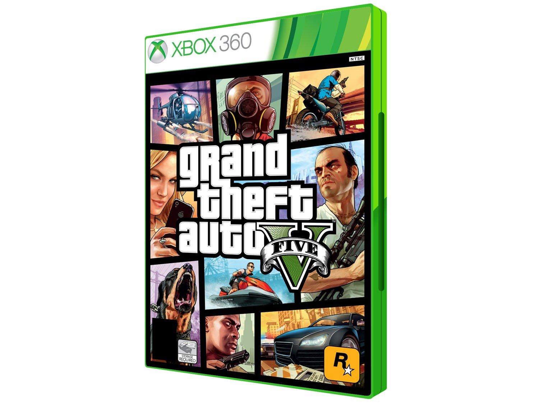 Gta 5 Xbox 360 : Gta v para xbox rockstar games jogos