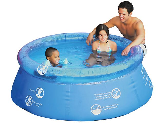 Piscina redonda splash fun 1400 litros mor piscina for Piscina redonda grande