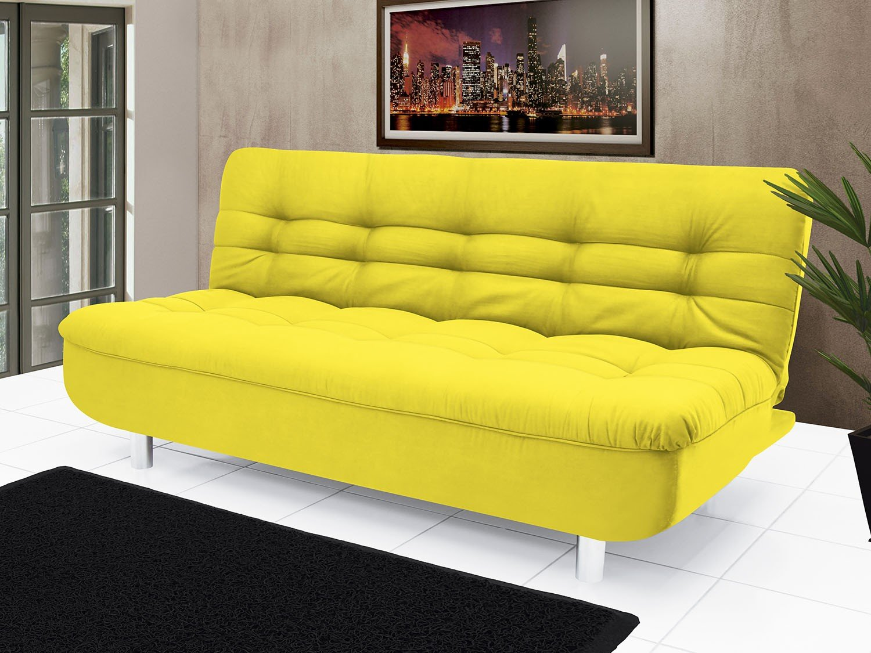 Sof cama suede reclin vel linoforte lenita sof cama for Sofas que se hacen cama