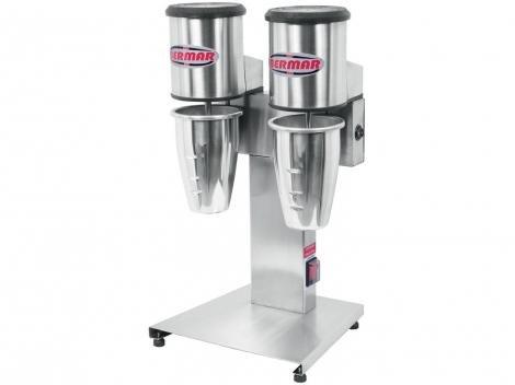 Batedor de Milk Shake Industrial BM 84 NR Inox Bermar com 2 Copos por Vez - Eletroportáteis industriais DESCONTO DE R$: 573,90 (38,03% OFF) - OFERTA MAGAZINE LUIZA