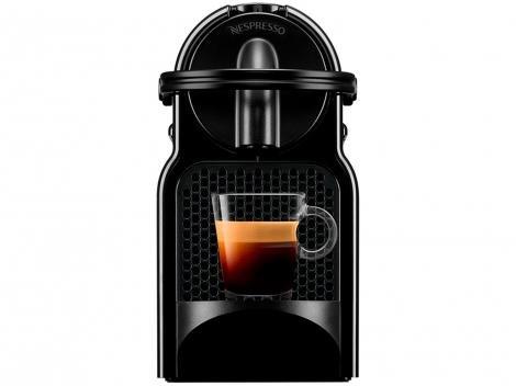Cafeteira Expresso 19 Bar Nespresso Inissia - Preto