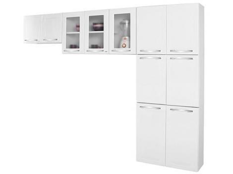 Cozinha Compacta Itatiaia Criativa - 11 Portas Aço