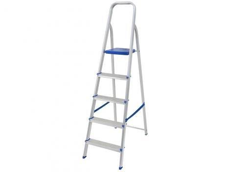 Escada 5 Degraus de Alumínio Mor - 5103