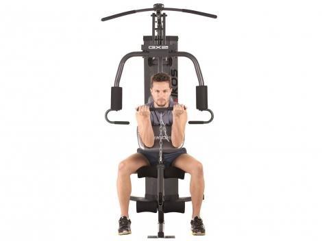 3750d7f013 Estação de Musculação Kikos GX2 com Mais de 25 Tipos de Exercícios - Estação  de Musculação