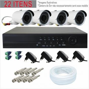 Kit Cftv 04 Câmeras AHD + Dvr 04 Ch AHD JLProtec - Equipamentos e Acessórios para Segurança DESCONTO DE R$: 351,60 (28,57% OFF) - OFERTA MAGAZINE LUIZA