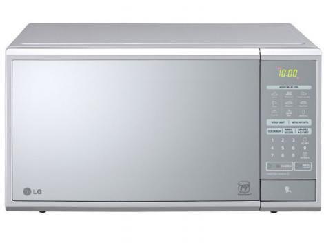 Micro-ondas LG Easy Clean MS3059L 30L com 17 Receitas Pré-Programadas - Prata - Micro-ondas DESCONTO DE R$: 142,49 (25,00% OFF) - OFERTA MAGAZINE LUIZA