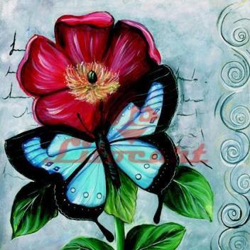 Papel Decoupage Arte Francesa Grande Flores LFQG-38 Litocart - Produtos para Artesanato DESCONTO DE R$: 1,34 (19,91% OFF) - OFERTA MAGAZINE LUIZA