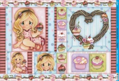 Papel Decoupage Grande Criança Cup Cake PD-595 Litoarte Litoarte - Produtos para Artesanato DESCONTO DE R$: ,49 (10,94% OFF) - OFERTA MAGAZINE LUIZA