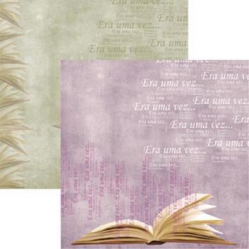 Papel Scrapbook Dupla Face Era Uma Vez Livro SDF197 - Toke e Crie by Flavia Terzi Toke e Crie - Produtos para Artesanato DESCONTO DE R$: ,49 (10,94% OFF) - OFERTA MAGAZINE LUIZA